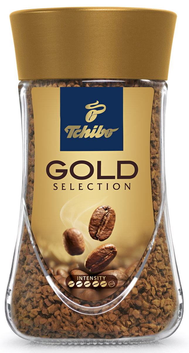 Tchibo Gold Selection кофе растворимый, 47,5 г101246Порадуйте себя благородным вкусом и насыщенным ароматом кофе Tchibo Gold Selection. Зерна Tchibo Gold Selection тщательно обжариваются небольшими партиями до благородного золотисто-коричневого оттенка. Эта особая золотистая обжарка позволяет раскрыть необычайно богатый вкус и насыщенный аромат кофейных зерен.