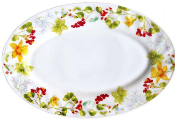 Блюдо Chinbull Оттавиа, 24 х 17 см115510Блюдо Chinbull Оттавиа, изготовленное из стеклокерамики, сочетает в себе изысканный дизайн с максимальной функциональностью. Красочность оформления придется по вкусу тем, кто предпочитает утонченность и изящность. Оригинальное блюдо украсит сервировку вашего стола и подчеркнет прекрасный вкус хозяйки, а также станет отличным подарком. Размер блюда (по верхнему краю): 24 см х 17 см.
