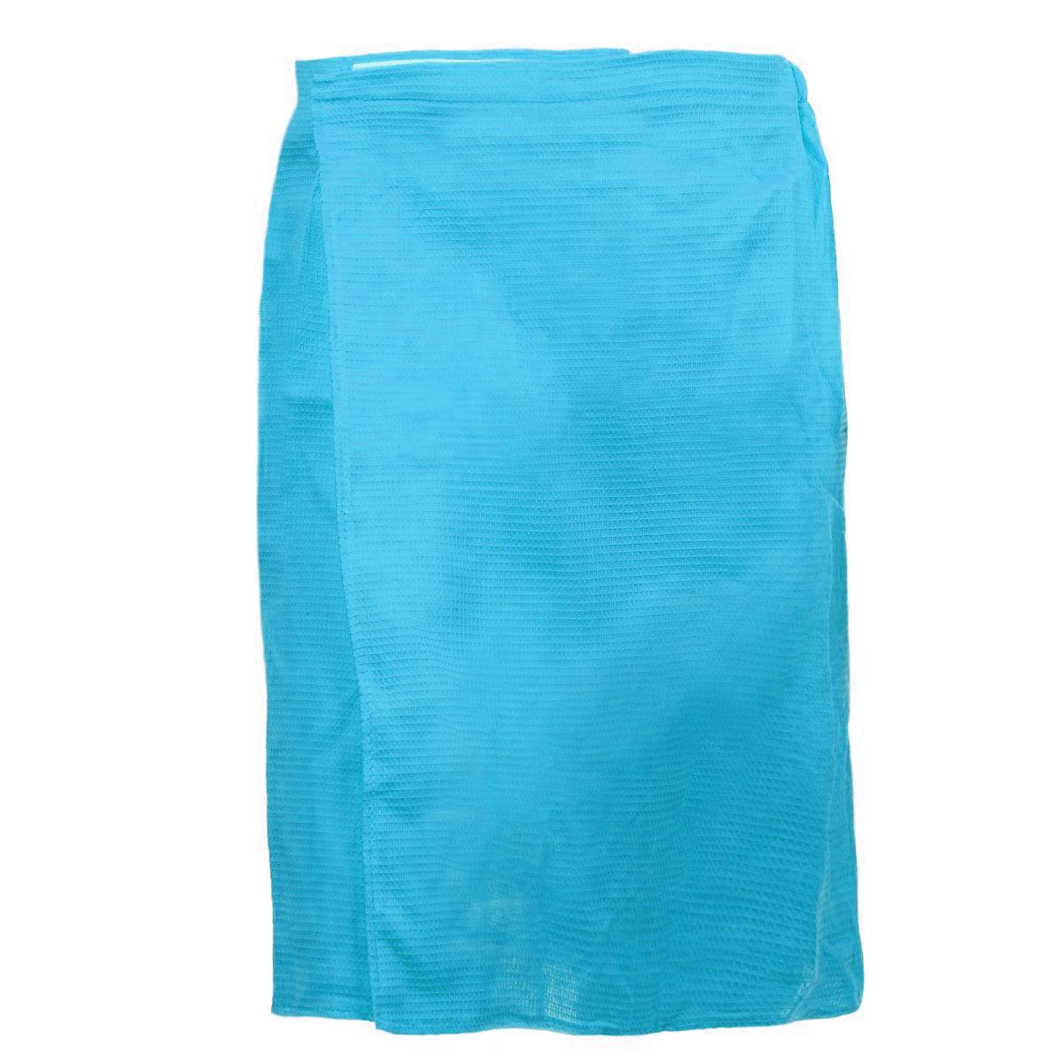 Килт для бани и сауны Банные штучки, мужской, цвет: голубойK100Вафельный килт для бани и сауны Банные штучки, выполненный из натурального хлопка, привлечет внимание любителей модных тенденций в банной одежде.Килт - это многофункциональное полотенце специального покроя с резинкой и застежкой. В парилке можно лежать на нем, после душа вытираться, а во время отдыха использовать как удобную накидку. Длина килта: 60 см.Ширина килта: 145 см.Размер: 36-60.