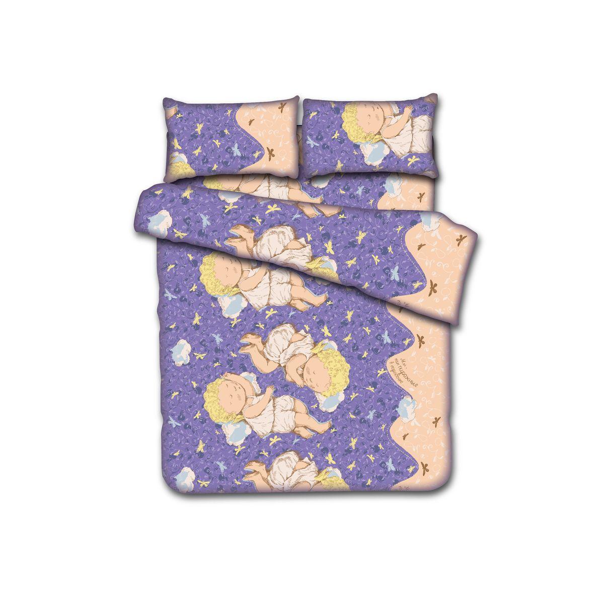 КПБ 1,5сп. GAPCHINSKA, 100% хлопок, диз. Мы, как пирожные в коробочке…, цвет - фиолетовый (нав. 50х70см-2шт)15п-1MRКомплект постельного белья GAPCHINSKA является великолепным подарком с эксклюзивным дизайном от Евгении Гапчинской. В ее рисунки влюблен весь мир, их стиль уникален. Белье выполнено из натурального хлопка.