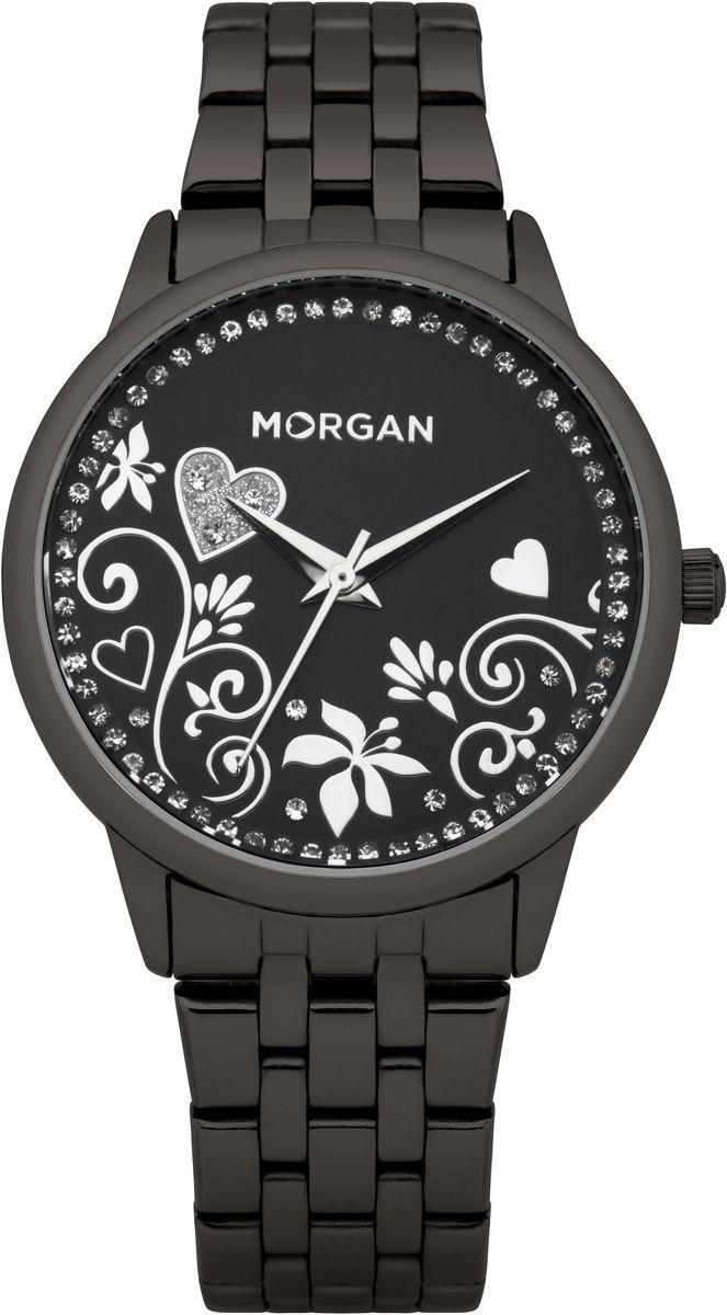 Часы наручные женские Morgan, цвет: черный. M1130BMBR