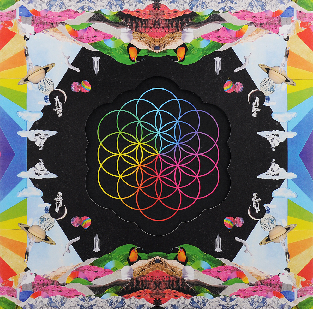 Coldplay Coldplay. A Head Full Of Dreams (2 LP) виниловые пластинки coldplay a head full of dreams 180 gram