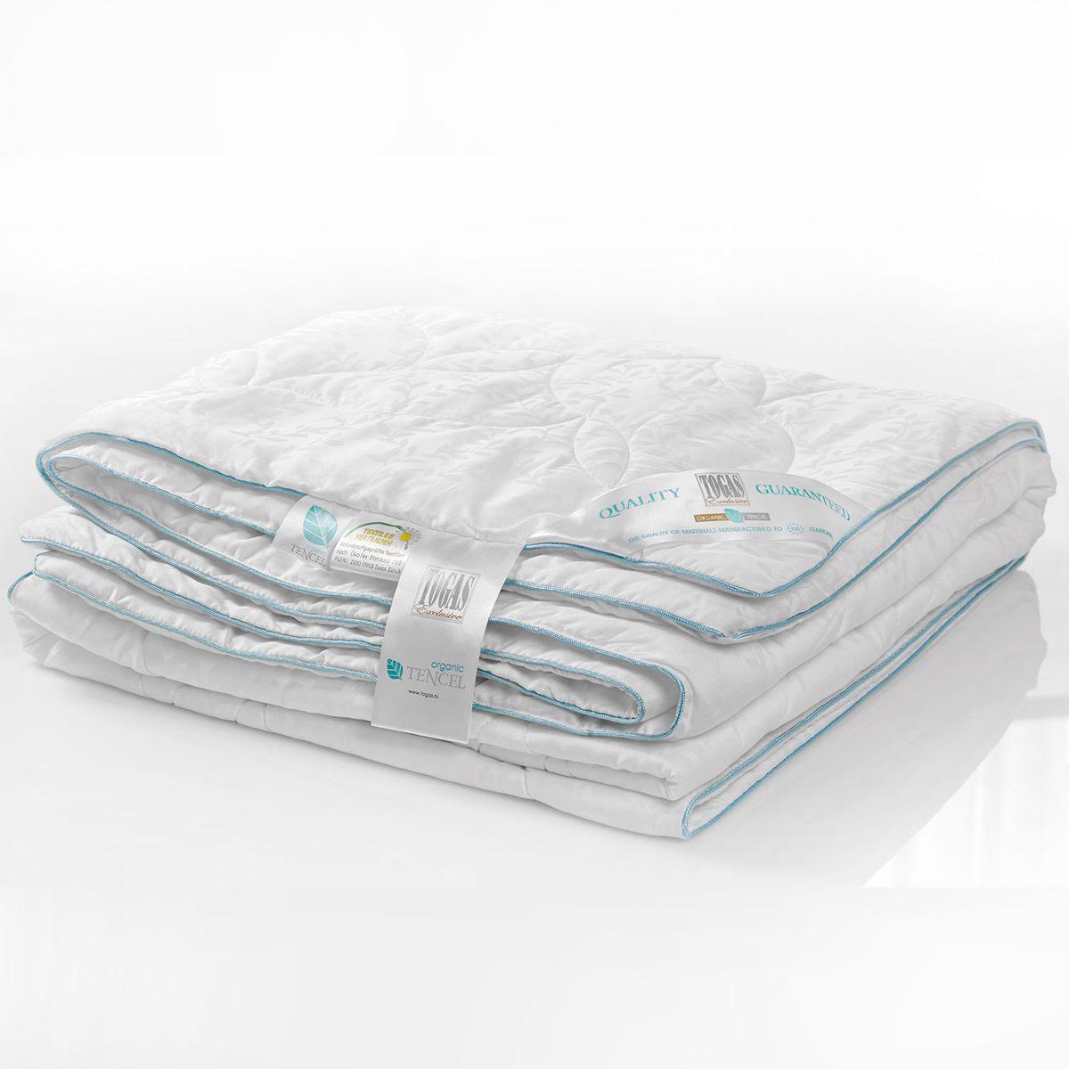 Одеяло Органик тенсель эвкалиптовое волокно в ткани тенсель, 200 х 210 см. 20.04.12.0059531-105Состав: чехол - 100% жаккард тенсель; наполнитель - 100% тенсель. Детали: одеяло каростепное, классический крой, двойная отстрочка, окантовка голубым шнуром, чехол с растительным жаккардовым рисунком, наполнитель - тенсель. Уход: рекомендована сухая чистка. Возможна машинная стирка в домашних условиях в теплой воде (температура не выше 30°С) в деликатном режиме, если есть соответствующее указание в инструкции по уходу. Для длительного хранения и перевозки используйте тканевые сумки-чехлы, в которые одеяло было упаковано при покупке. Регулярно проветривайте одеяла и подушки, желательно на свежем воздухе, но не под прямыми солнечными лучами.