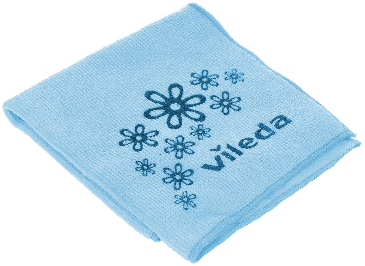 Салфетка универсальная Vileda Микрофибра, цвет: голубой, 32 см х 32 смRF-S01_синийУниверсальная салфетка Vileda Микрофибра предназначена для сухой и влажной уборки. В сухом виде - для удаления пыли, во влажном - для удаления загрязнений и полировки. Она устраняет жир, грязь без следа и разводов. Изделие используется без чистящих средств. Салфетка имеет абразивный рисунок для безопасного удаления застарелых загрязнений.Размер: 32 см х 32 см.