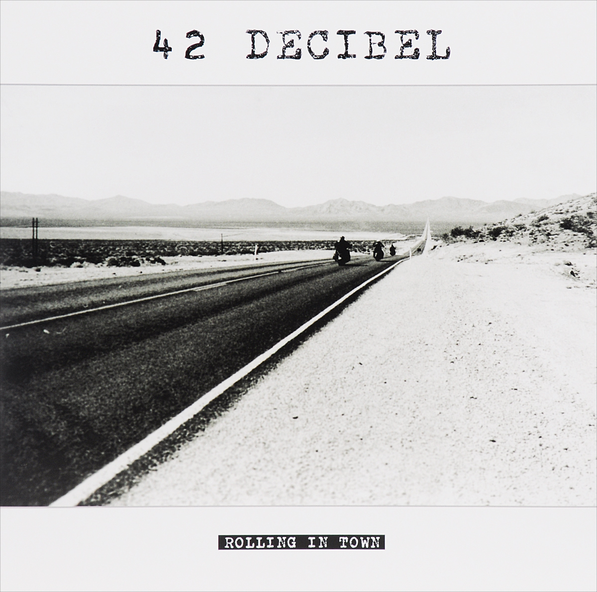 42 Decibel 42 Decibel. Rolling In Town (LP) + CD сабвуфер урал decibel 12