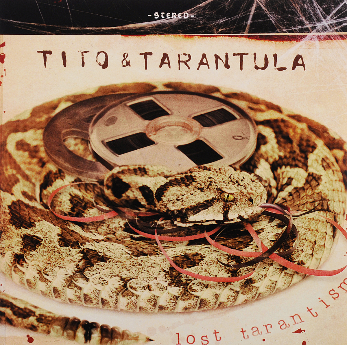 Tito & Tarantula Tito & Tarantula. Lost Tarantism (LP) + CD partners lp cd