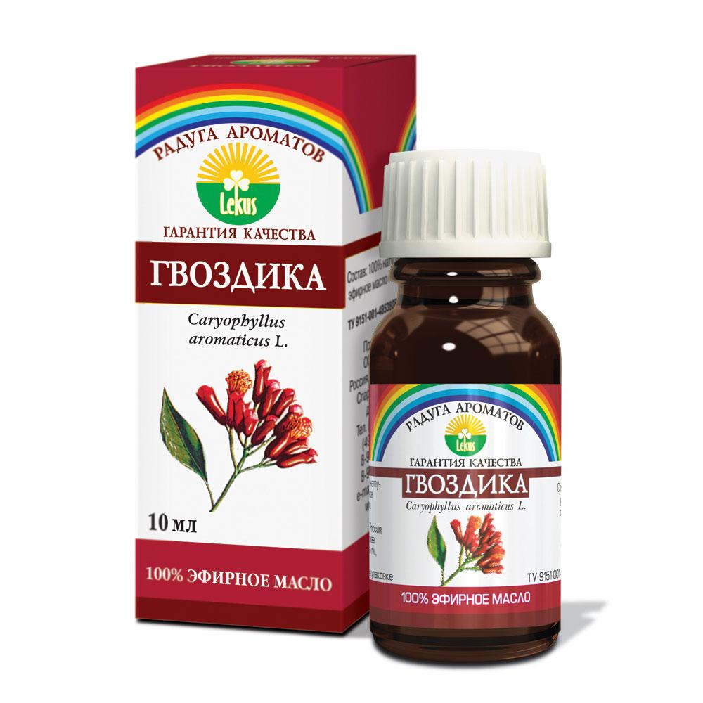 Радуга ароматов Гвоздика масло эфирное, 10 млWS 7064Оказывает антиневралгическое, антисептическое, антивирусное, бактерицидное, болеутоляющее, спазмолитическое, ветрогонное, дезинфицирующее действие. Улучшает микроциркуляцию, нормализует артериальное давление.Повышает функциональную активность желудка, улучшает аппетит. Нормализует менструальный цикл,повышает половую активность (афродизиак). Тонизирует функцию селезёнки. Обладает сильным анестезирующим действием в стоматологии. Улучшает память. Способствует заживлению инфицированных ран. Эффективно при чесотке и борьбе с кровососущими насекомыми и молью.Формы применения:- аромалампа: 3-4 капли;- ванны: 2-4 капли, добавляя в пену для ванн;- обогащение косметических препаратов: 2-3 капли на 10 г основы.