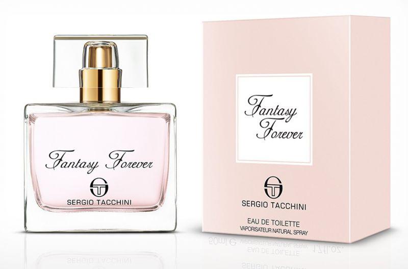 SERGIO TACCHINI FANTASY FOREVER WOMAN туалетная вода 30МЛ1301210Восточные, цветочные. Жасмин, кедр, сандаловое дерево, ваниль, дубовый мох, мускус, бергамот, роза, черника