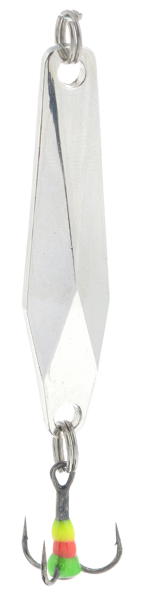 Блесна зимняя SWD, цвет: серебряный, 48 мм, 7 г блесна вертикальная зимняя lucky john цвет серебряный 7 8 см 17 г