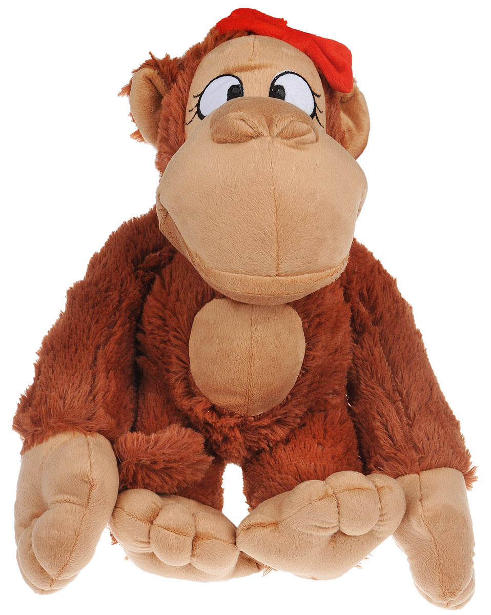 где купить СмолТойс Мягкая игрушка Обезьянка Янка 42 см по лучшей цене
