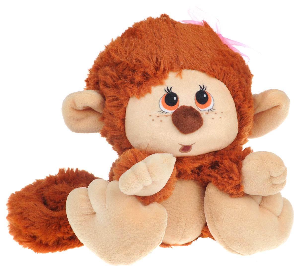 где купить СмолТойс Мягкая игрушка Обезьянка 20 см по лучшей цене
