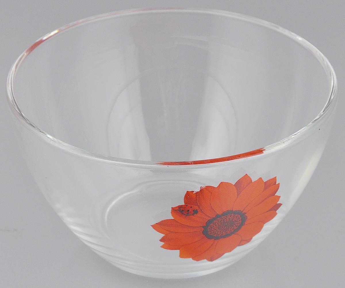 Салатник OSZ Божья коровка на красном цветке, диаметр 11 см115510Салатник OSZ Божья коровка на красном цветке изготовлен из бесцветного стекла и украшен ярким рисунком. Идеально подходит для сервировки стола.Салатник не только украсит ваш кухонный стол и подчеркнет прекрасный вкус хозяйки, но и станет отличным подарком. Диаметр салатника (по верхнему краю): 11 см. Диаметр основания: 5,5 см. Высота салатника: 6 см.