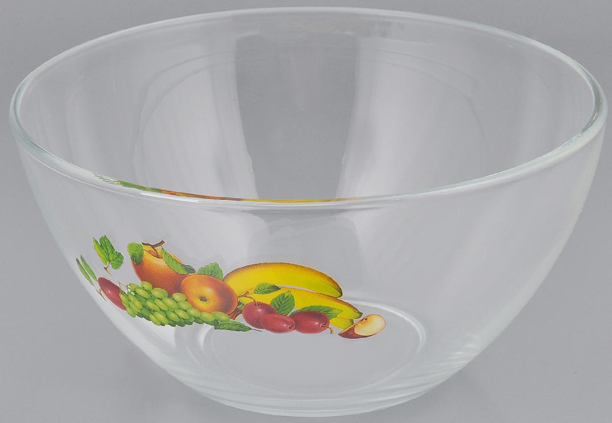 Салатник OSZ Фруктовая феерия, диаметр 16 см54 009312Салатник OSZ Фруктовая феерия изготовлен из бесцветного натрий-кальций-силикатного стекла и украшен ярким рисунком. Изделие идеально подходит для сервировки стола.Такой салатник не только украсит ваш кухонный стол и подчеркнет прекрасный вкус хозяйки, но и станет отличным подарком. Диаметр салатника (по верхнему краю): 16 см. Диаметр основания: 7 см. Высота салатника: 8 см.