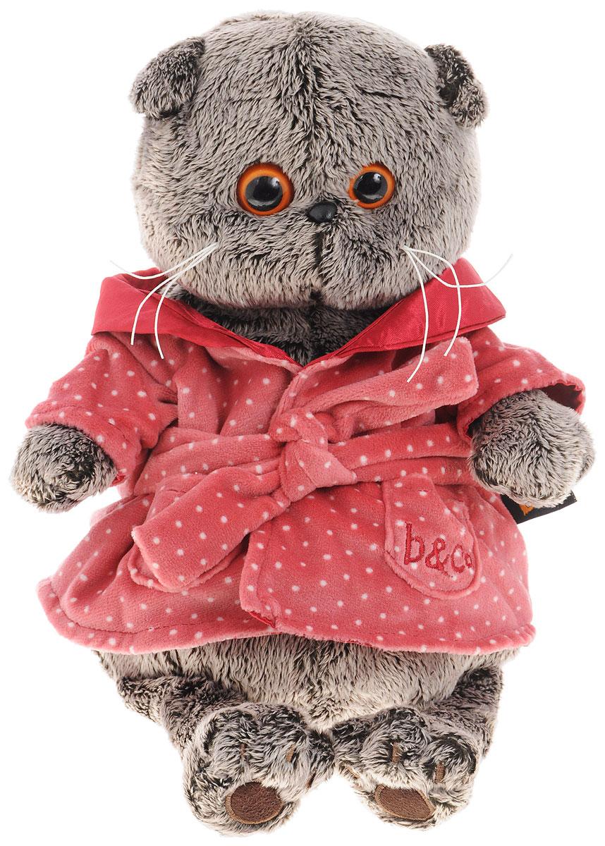 Мягкая игрушка Басик в халате 25 см basik & ко мягкая игрушка басик в дафлкоте 22 см