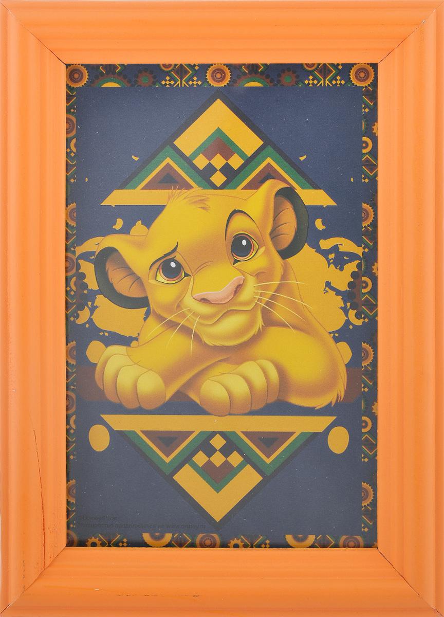 Фоторамка Vertigo Disney, цвет: оранжевый, 10 см х 15 см12723Фоторамка Vertigo Disney выполнена из дерева и стекла, защищающего фотографию. Оборотная сторона рамки оснащена специальной ножкой, благодаря которой ее можно поставить на стол или любое другое место в доме или офисе. Также изделие оснащено специальными отверстиями для подвешивания на стену.Такая фоторамка поможет вам оригинально и стильно дополнить интерьер помещения, а также позволит сохранить память о дорогих вам людях и интересных событиях вашей жизни.