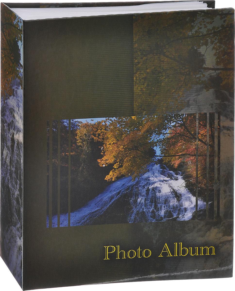 Фотоальбом Big Dog Waterfalls, цвет: темно-зеленый, 200 фотографий, 10 х 15 см 1113 фотоальбом big dog harley 300 фотографий 10 см х 15 см