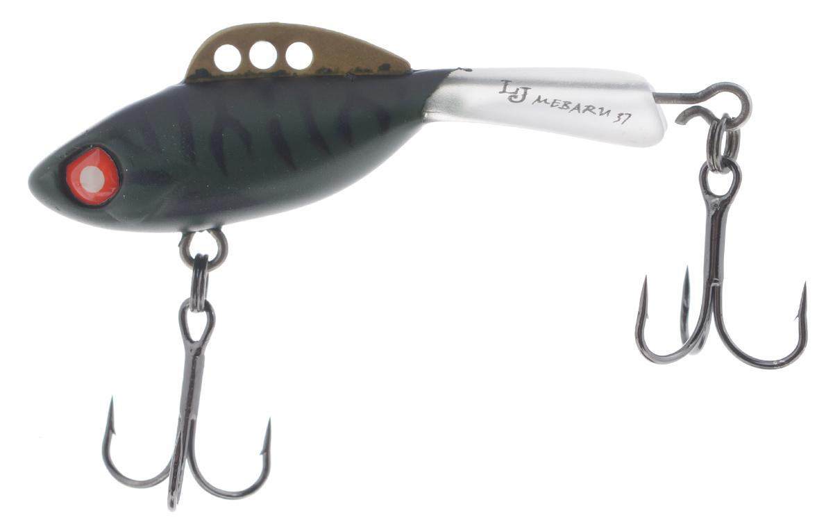 Балансир Lucky John Mebaru, цвет: черный, темно-серый, 3,7 см, 5 г010-01199-23Lucky John Mebaru - балансир, разработанный в Японии, для ловли хищной рыбы со льда и в отвес с дрейфующей лодки. Приманка изготовлена из свинцового сплава с корпусом и хвостом, сформированными из цельного морозостойкого и ударопрочного пластика ABS. Длинный хвост обеспечивает четкие развороты приманки в крайних точках траектории движения. В спинном плавнике, изготовленном из латуни, имеется три отверстия. В зависимости от точки крепления, игра приманки изменяется. На приманке установлены крючки Owner.Рекомендуется для ловли судака, щуки, форели и окуня.