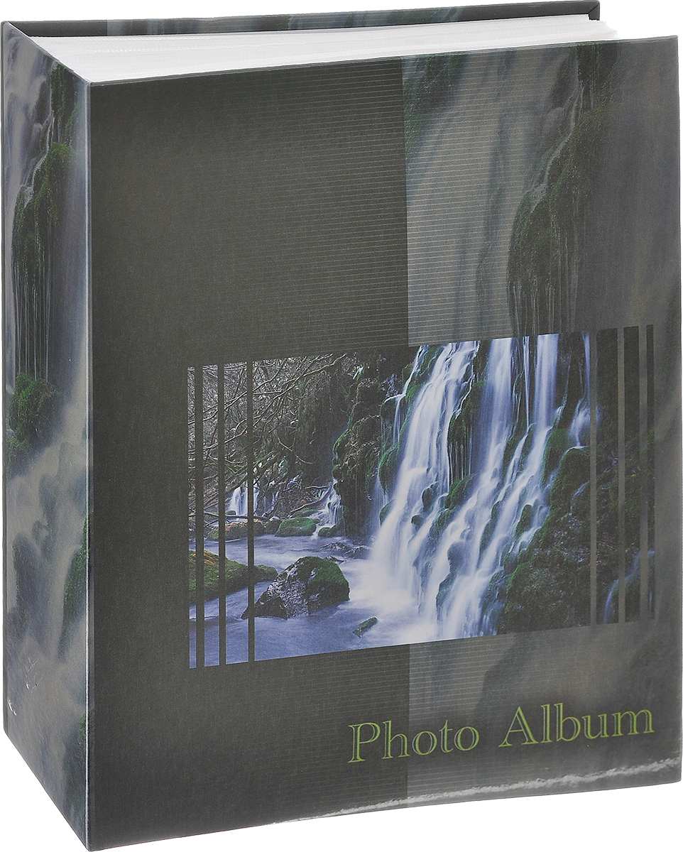 Фотоальбом Big Dog Waterfalls, цвет: темно-зеленый, 200 фотографий, 10 см х 15 см. 11134 фотоальбом big dog harley 300 фотографий 10 см х 15 см