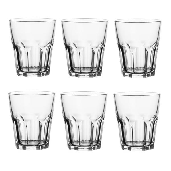 Набор стаканов Luminarc New America, 270 мл, 6 штVT-1520(SR)Набор Luminarc New America состоит из 6 стаканов, выполненных из стекла. Они отличаются особой легкостью и прочностью, излучают приятный блеск и издают мелодичный хрустальный звон. Стаканы станут идеальным украшением праздничного стола и отличным подарком к любому празднику.Диаметр стакана (по верхнему краю): 8,5 см.Высота: 10 см.