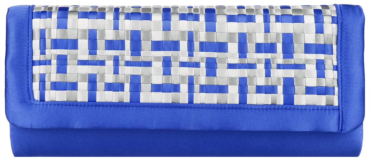 Клатч женский Eleganzza, цвет: синий, светло-серый, серый. ZZ-14282A-B86-05-CВеликолепный женский клатч Eleganzza выполнен из полиэстера.Изделие имеет одно основное отделение, внутри которого имеется открытый накладной карман. Закрывается клатч на клапан с магнитной кнопкой. Клапан оформлен декоративными текстильными вставками.Модель оснащена плечевым ремнем в виде цепочки.Роскошный клатч внесет элегантные нотки в ваш образ и подчеркнет ваше отменное чувство стиля.