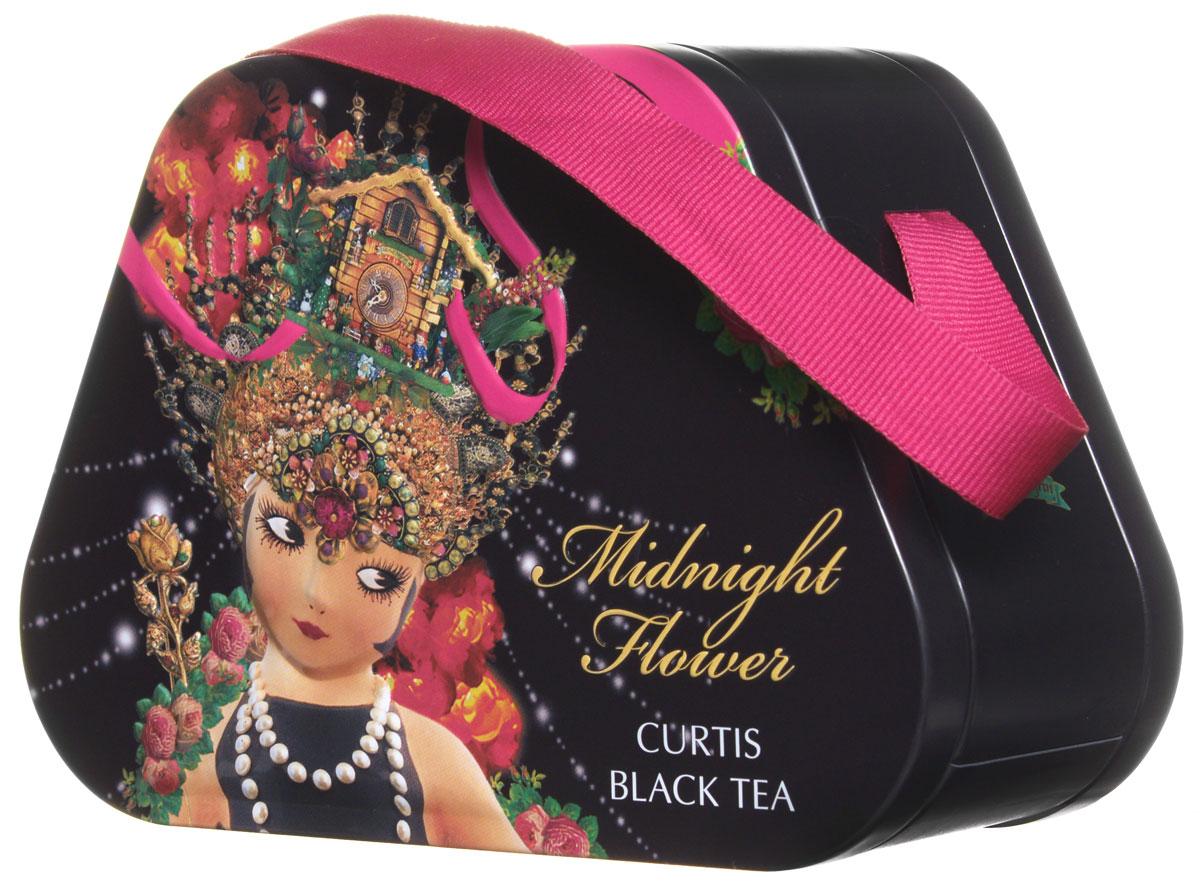 Curtis Midnight Flower черный листовой чай, 60 г0187-20Curtis Midnight Flower - черный крупнолистовой ароматизированный чай с лепестками розы, подсолнечника и василька. Этот уникальный напиток подарит вам незабываемый вкус и аромат.