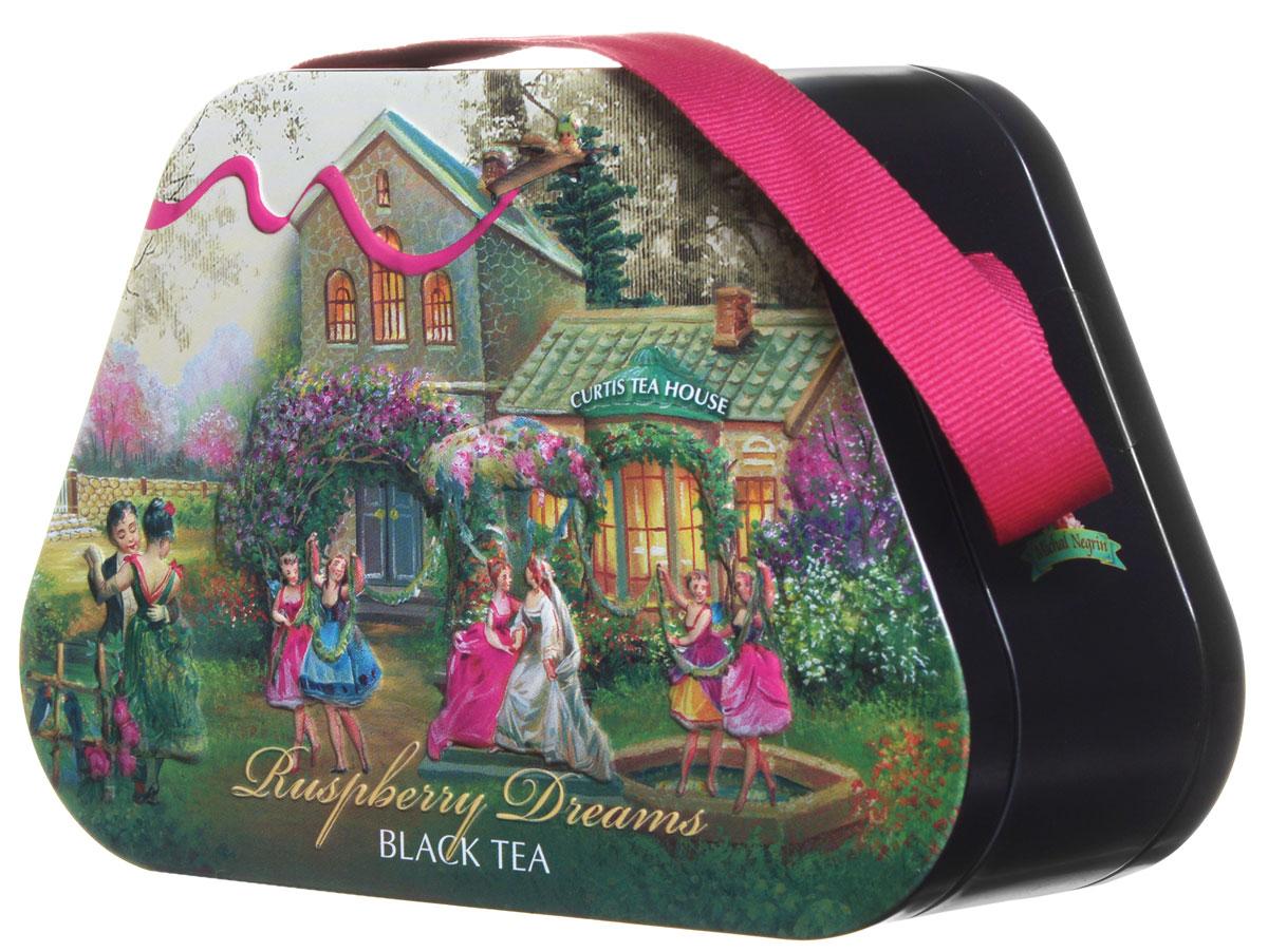 Curtis Raspberry Dreams черный листовой чай, 60 г0120710Curtis Raspberry Dreams - черный крупнолистовой ароматизированный чай с кусочками малины и сахарными сердечками. Этот уникальный напиток подарит вам незабываемый вкус и аромат.