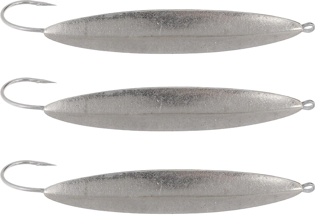 Блесна зимняя Dixxon Старорусская, цвет: никель, 9,6 г, 3 шт10936Блесна зимняя Dixxon Старорусская - это классическая вертикальная блесна. Выполнена из высококачественного металла. Блесна предназначена для отвесного блеснения рыбы. Оснащена впаянным одинарным крючком.