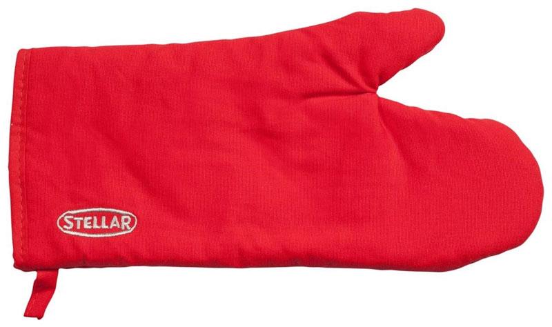 Варежка-прихватка Horwood Stellar, цвет: красный, 30 х 13,5 смBH-UN0502( R)Варежка-прихватка Horwood Stellar изготовлена из хлопка. Изделие оснащено текстильной петелькой для подвешивания на крючок.Прихватка-перчатка прострочена, что позволяет не сбиваться наполнителю. С помощью такой прихватки ваши руки будут защищены от ожогов, когда вы будете ставить в печь или доставать из нее выпечку.