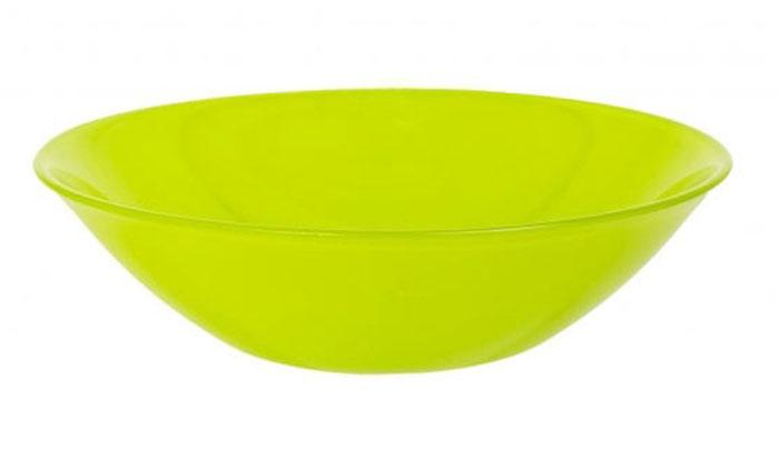 Салатник Luminarc Colorama Green, диаметр 16,5 смSXT M15-14Салатник Luminarc Colorama Green выполнен из ударопрочного стекла. Яркий дизайн придется по вкусу и ценителям классики, и тем, кто предпочитает утонченность и изысканность. Салатник Luminarc Colorama Green идеально подойдет для сервировки стола и станет отличным подарком к любому празднику.Диаметр (по верхнему краю): 16,5 см.