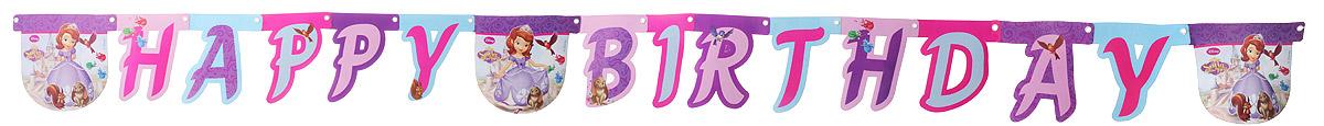 Procos Гирлянда-буквы Happy Birthday София - Гирлянды и подвески