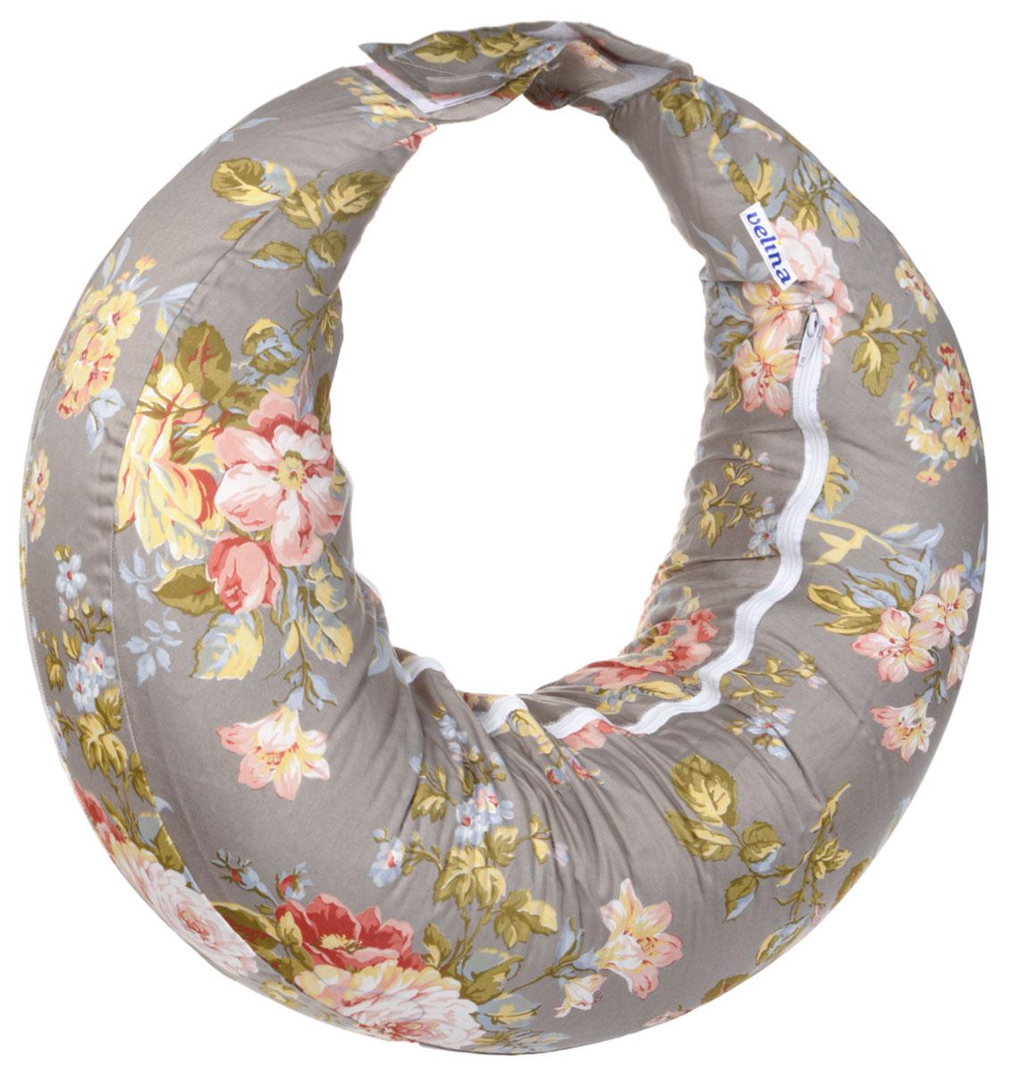 Velina Подушка для беременных и кормления Чайная роза