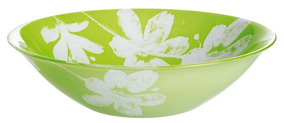 Салатник Luminarc Cotton Flower, диаметр 27 см115510Красивый салатник Luminarc Cotton Flower, украшенный белыми, воздушными цветами хлопка, создаст весеннее настроение во время трапезы. Может также использоваться в качестве фруктовницы. Изготовлен из ударопрочного стекла, устойчивого к резким перепадам температуры.Можно мыть в посудомоечной машине и использовать в СВЧ. Диаметр салатника: 27 см.