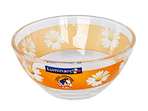 Салатник Luminarc Paquerette, диаметр 10 см391602Салатник Paquerette от Luminarc из качественного ударопрочного стекла пригодится на каждой кухне. В нем можно подавать холодные закуски, легкие салаты, снеки к чаю. Диаметр салатника - 10 сантиметров. Можно использовать в СВЧ-печи и посудомоечной машине.