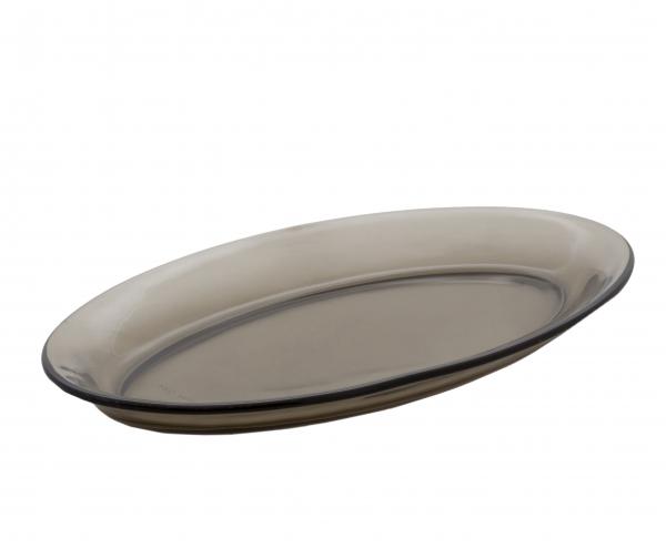Селедочница Luminarc Directoire Eclipse, 22 х 12,5 см115510Селедочница Luminarc Directoire Eclipse изготовлена из высококачественного стекла. Изделие идеально подходит для сервировки сельди в нарезке, а также разных видов закусок. Размер (по верхнему краю): 22 х 12,5 см.
