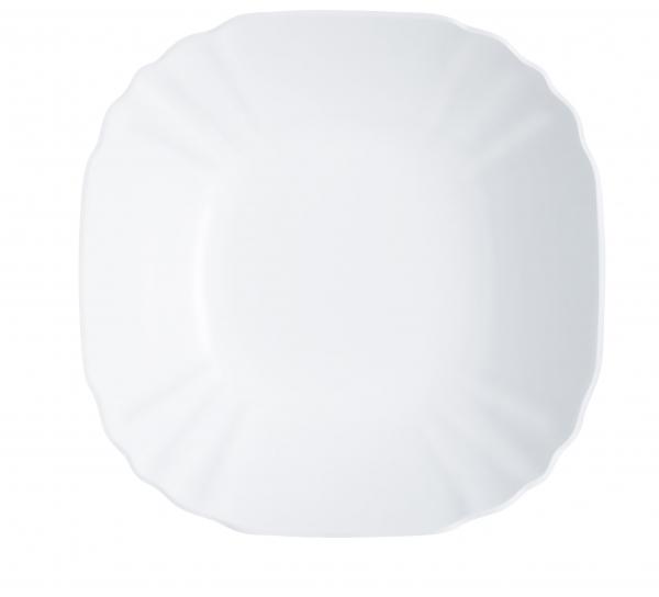 Салатник Luminarc Lotusia, диаметр 27 см115510Салатник Luminarc Lotusia выполнен в современном дизайне и подойдет для использования в любых интерьерах. Салатник, диаметром 27 сантиметров, можно использовать для подачи холодных закусок, снеков или сладостей на общий стол. Белоснежный цвет выгодно подчеркнет изысканность ваших блюд. Салатник произведен известной маркой Luminarc из качественного ударопрочного стекла, долговечен, не впитывает запахи и обладает антибактериальными свойствами. Салатник можно мыть в посудомоечной машине и использовать в СВЧ-печи.