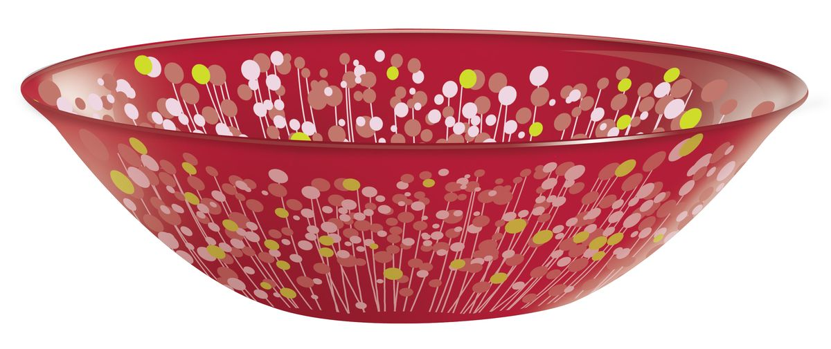Салатник Luminarc Flowerfield, диаметр 16 см115510Салатник Luminarc Flowerfield выполнен из высококачественного стекла. Он прекрасно впишется в интерьер вашей кухни и станет достойным дополнением к кухонному инвентарю. Диаметр салатника (по верхнему краю): 16 см.