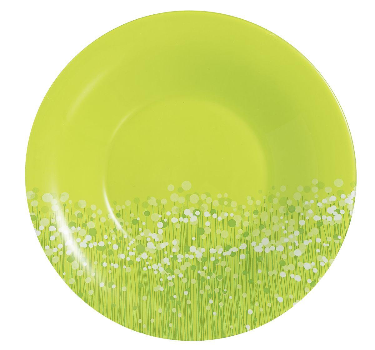 Тарелка глубокая Luminarc Flowerfield, диаметр 21,5 см115610Яркая и привлекательная глубокая тарелка Flowerfield выполнена в нетривиальном дизайне, она подчеркнет стиль дома. Эта тарелка изготовлена из ударопрочного стекла известной французской марки Luminarc. Тарелку можно использовать в СВЧ-печи и мыть с помощью посудомоечной машины.