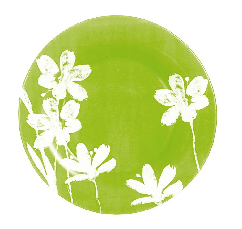 Тарелка Luminarc Cotton Flower, диаметр 25 см54 009312Десертная тарелка Luminarc Cotton Flower, изготовленная из ударопрочного стекла, имеет изысканный внешний вид. Такая тарелка прекрасно подходит как для торжественных случаев, так и для повседневного использования. Идеальна для подачи десертов, пирожных, тортов и многого другого. Она прекрасно оформит стол и станет отличным дополнением к вашей коллекции кухонной посуды. Диаметр тарелки (по верхнему краю): 25 см.