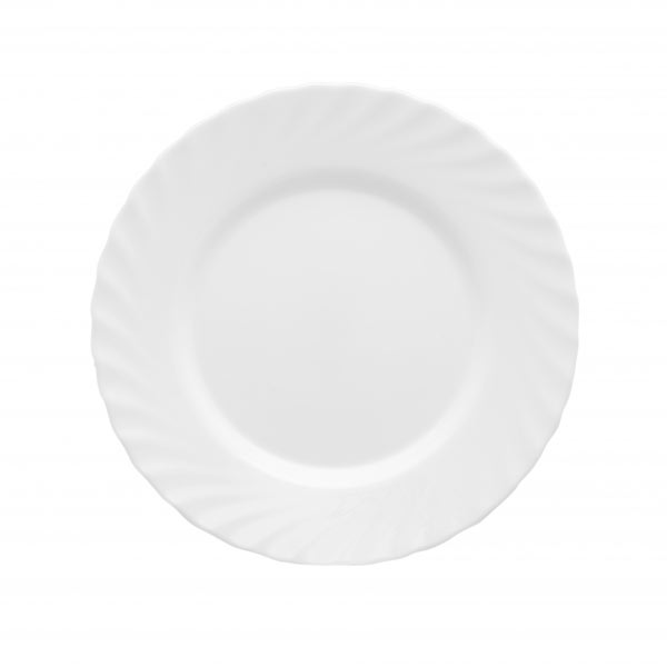 Тарелка Luminarc Trianon, диаметр 24 см54 009312Тарелка Luminarc Trianon, изготовленная из высококачественного фарфора, имеет классическую круглую форму. Тарелка Luminarc Trianon идеально подойдет для сервировки стола и станет отличным подарком к любому празднику.