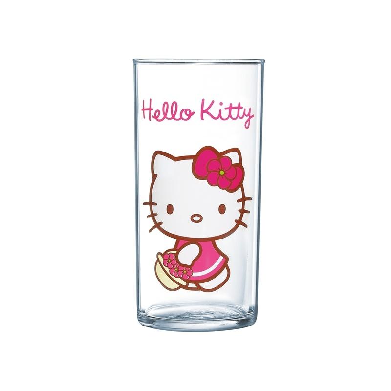 Стакан Luminarc Hello Kitty, 270 млVT-1520(SR)Стакан Luminarc Hello Kitty, изготовлен из высококачественного стекла. Такой стакан прекрасно подойдет для горячих и холодных напитков. Он дополнит коллекцию вашей кухонной посуды и будет служить долгие годы. Можно мыть в посудомоечной машине.