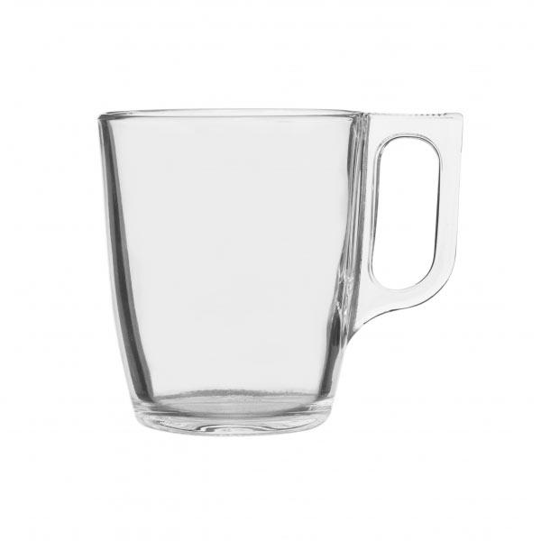 Кружка Luminarc Nuevo, 250 мл115510Кружка Luminarc Nuevo изготовлена из ударопрочного стекла. Такая кружка прекрасно подойдет для горячих и холодных напитков. Она дополнит коллекцию вашей кухонной посуды и будет служить долгие годы. Можно использовать в посудомоечной машине и микроволновой печи. Объем кружки: 250 мл.