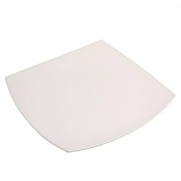 Тарелка Luminarc Quadrato, цвет: белый, 27 х 27 см115510Квадратная тарелка Luminarc Quadrato изготовлена из ударопрочного, закаленного стекла, способного выдерживать значительные перепады температуры. Она подойдет для сервировки вторых блюд, а также ее можно использовать, как блюдо для подачи закусок. На белоснежной блестящей поверхности ваши любимые блюда будут смотреться по-особенному аппетитно и привлекательно.Тарелка не нуждается в особо бережном уходе, её можно мыть в посудомоечной машине и использовать в СВЧ.Размер тарелки: 27 х 27 см.