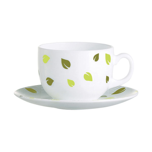 Набор чайный Luminarc Амели, 12 предметовVT-1520(SR)Чайный набор Luminarc Амели состоит из шести чашек и шести блюдец, выполненных из стекла. Изящный набор эффектно украсит стол к чаепитию и порадует вас функциональностью и ярким дизайном. Можно мыть в посудомоечной машине.Диаметр чашки (по верхнему краю): 8 см.Высота чашки: 6 см.Объем чашки: 220 мл. Диаметр блюдца: 13,5 см.Высота блюдца: 1,5 см.