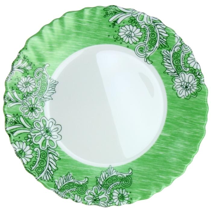 Тарелка десертная Luminarc Minelly, диаметр 19 см115510Тарелка десертная Luminarc Minelly, изготовлена из ударопрочного стекла. Такая тарелка прекрасно подходит как для торжественных случаев, так и для повседневного использования. Идеальна для подачи десертов, пирожных, тортов и многого другого. Она прекрасно оформит стол и станет отличным дополнением к вашей коллекции кухонной посуды. Изделие можно мыть в посудомоечной машине. Диаметр тарелки: 19 см.