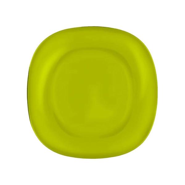 Тарелка десертная Luminarc Colorama, цвет: зеленый, 18 х 18 см1303843Тарелка десертная Luminarc Colorama изготовлена из ударопрочного стекла. Такая тарелка прекрасно подходит как для торжественных случаев, так и для повседневного использования. Идеальна для подачи десертов, пирожных, тортов и многого другого. Она прекрасно оформит стол и станет отличным дополнением к вашей коллекции кухонной посуды. Изделие можно мыть в посудомоечной машине, ставить в микроволновую печь и холодильник.