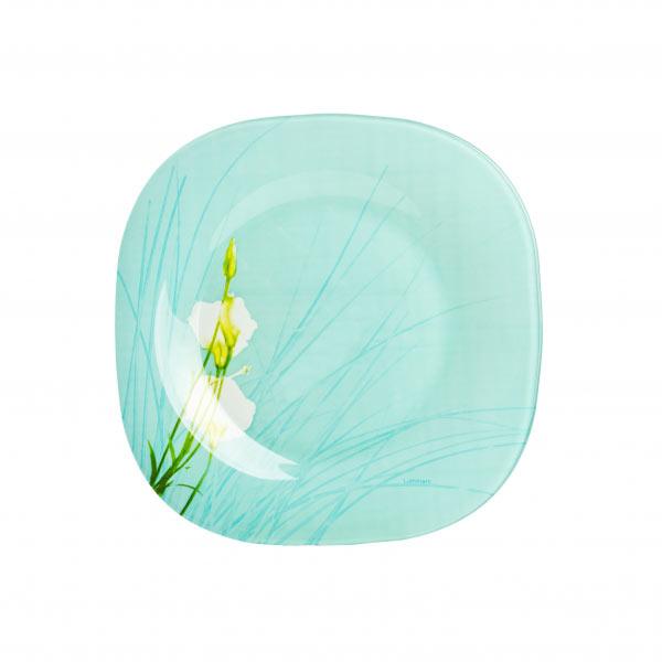 Тарелка глубокая Luminarc Sofiane, 20,5 х 20,5 см115510Глубокая тарелка марки Luminarc, украшенная нежным цветочным рисунком, придется по душе любителям практичной и удобной посуды. Тарелка предназначена для подачи на стол первых блюд. Практичный дизайн и современное исполнение делают суповую тарелку простой и удобной в эксплуатации. Изготовленная из качественного ударопрочного стекла, устойчивого к царапинам, механическим повреждениям и перепаду температур, тарелка надолго сохранит первоначальный внешний вид. Ее можно мыть в посудомоечной машине и использовать в микроволновой печи.