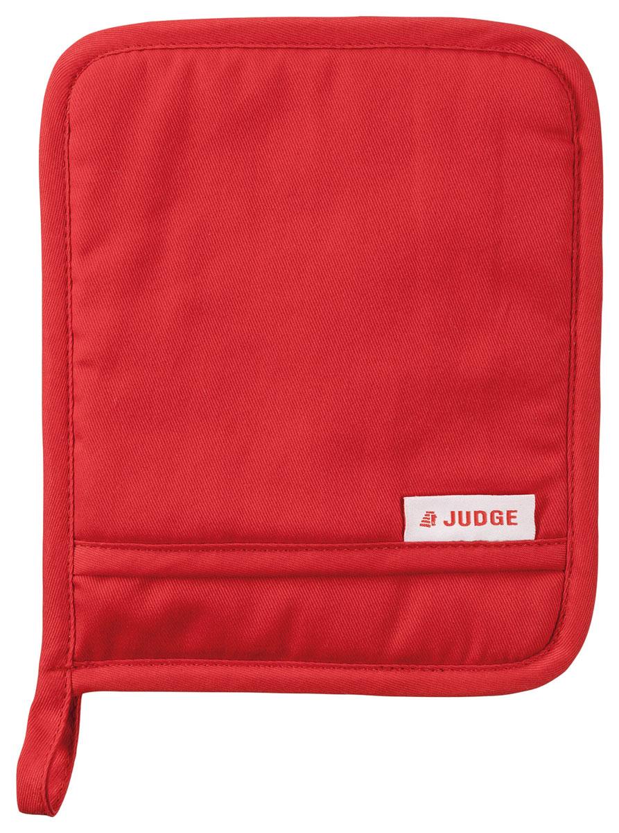 Прихватка Horwood Judge, цвет: красный, 20 х 17 см6191522-k10Прихватка Horwood Judge изготовлена из натурального хлопка. Изделие оснащено карманом для безопасного хвата и петелькой для удобного подвешивания на вашей кухне. Она станет прекрасным дополнением к набору ваших бытовых принадлежностей для кухни и надежно защитит кожу рук от ожогов во время готовки и выемки горячих блюд из духового шкафа. Порадуйте себя и близких классическим английским дизайном. Размер прихватки: 20 см х 17 см.