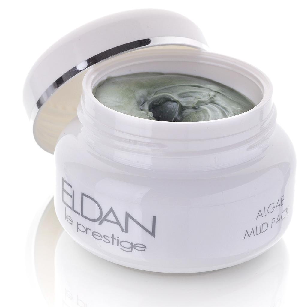 ELDAN cosmetics Грязевая маска с водорослями для лица Le Prestige, 100 млAC-2233_серыйМаска подходит как для молодой, так и для зрелой кожи. Благодаря содержанию лечебных грязей, природных глин и водорослей обладает очищающими, увлажняющими, противовоспалительными и антисептическими свойствами.Усиливает клеточную регенерацию, повышает тонус и эластичность кожи, сокращает поры, корректирует мелкие морщины. Улучшает микроциркуляцию,выравнивает цвет лица.