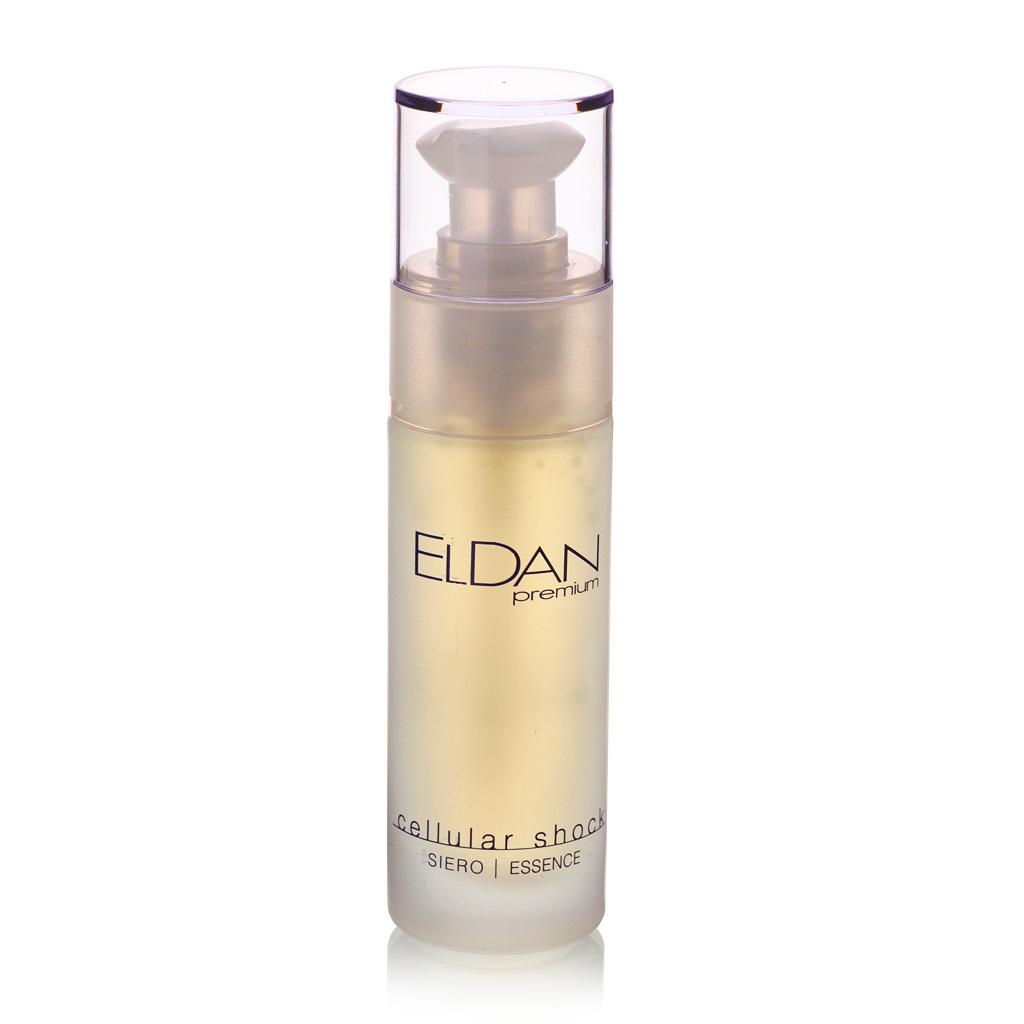 ELDAN cosmetics Сыворотка для лица Premium cellular shock, 30 млELD-44Омолаживающее средство для всех типов кожи, особенно тонкой, атоничной, с выраженными возрастными изменениями. Сыворотка быстро впитывается, хорошо увлажняет кожу, разглаживает морщины. Защищает кожу от разрушительного воздействия свободных радикалов, повышает ее упругость и эластичность