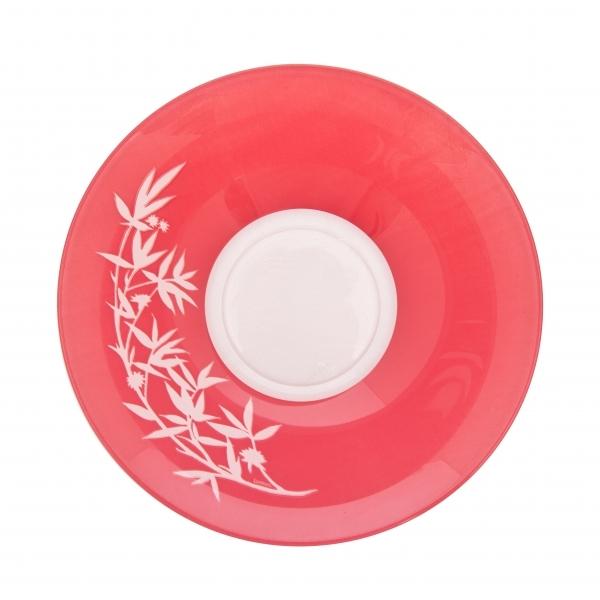 Салатник Luminarc Darjeeling, цвет: прозрачный, розовый, диаметр 27 см68/5/3Салатник Luminarc Darjeeling выполнен из ударопрочного стекла. Яркий дизайн придется по вкусу и ценителям классики, и тем, кто предпочитает утонченность и изысканность. Салатник Luminarc Darjeeling идеально подойдет для сервировки стола и станет отличным подарком к любому празднику.Диаметр салатника(по верхнему краю): 27 см.Диаметр дна: 11,5 см.Высота салатника: 8,5 см.